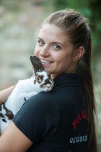 Laura and bunny